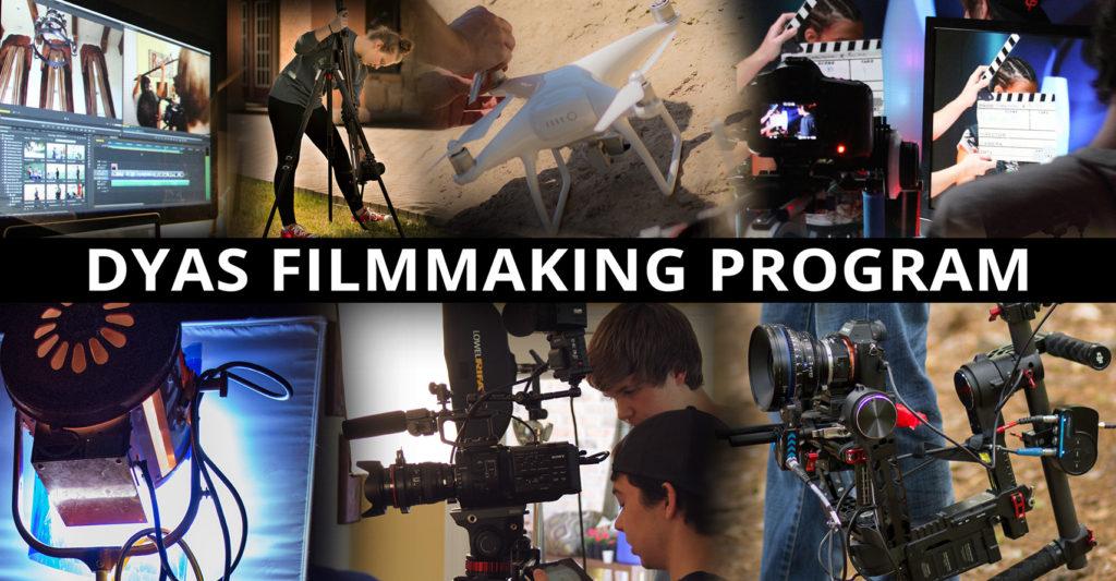 Filmmaking Class Youth Dallas Texas